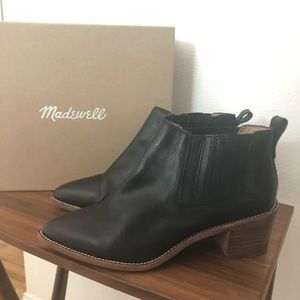 Madewell Leather Ankle 'Bonham' Boots